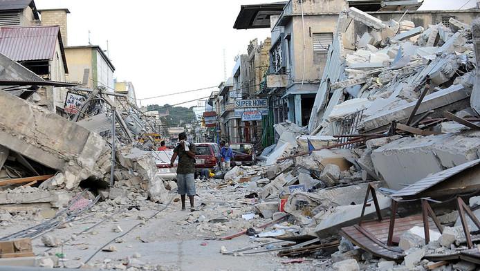Port-au-Prince, le 14 janvier 2010.