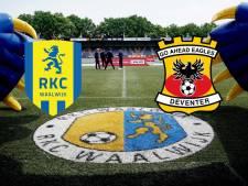 LIVE | GA Eagles en RKC openen de jacht op terugkeer naar eredivisie