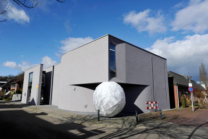 Het gebouw van de Kunstvereniging in Diepenheim