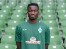 L'attaquant ghanéen Jonah Osabutey prêté par le Werder Brême à Mouscron