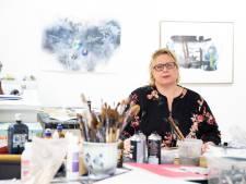 Zutphense kunstenares Edith Meijering heeft een bewogen week achter de rug