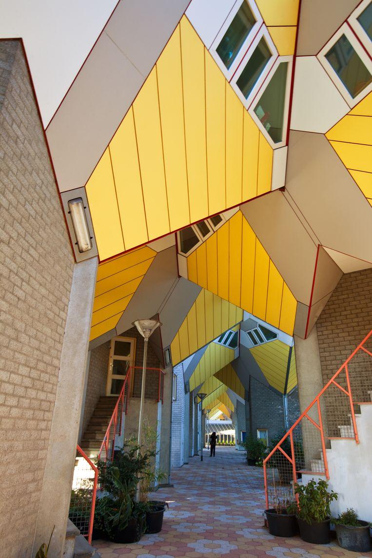 Kubuswoningen van Piet Blom.  Beeld COLOURBOX
