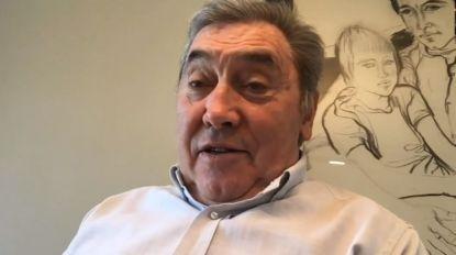 """Eddy Merckx ziet Tour zonder publiek niet zitten: """"Als de Ronde van Frankrijk doorgaat, moet er volk zijn"""""""