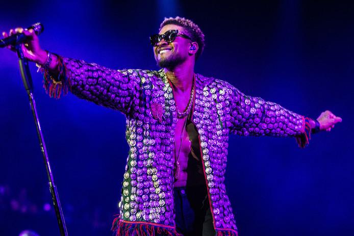 Usher tijdens North Sea Jazz dit jaar.