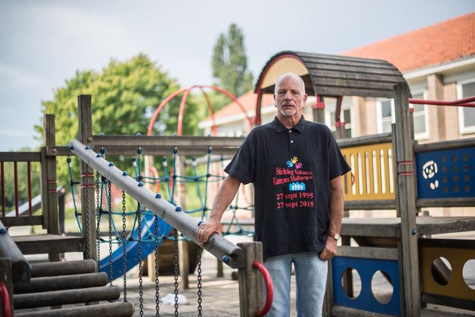 Rein Turk; de drijvende kracht achter Stichting Vakantie Kampen Malburgen.