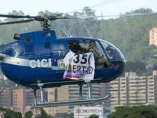 'Politie en militairen achter helikopteraanval Venezuela'