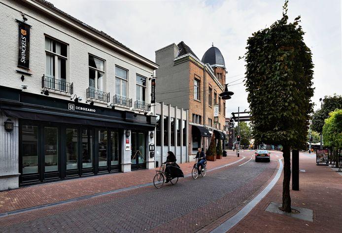 De Steenweg in het centrum van Helmond.