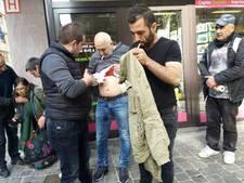Rellen bij Turkse ambassade Brussel: 'Drie personen neergestoken'