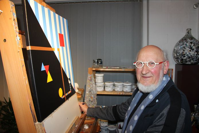 Kunstenaar Adi Steurbaut.