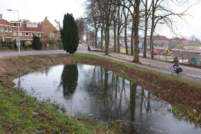 Een wadi in  Arnhem.