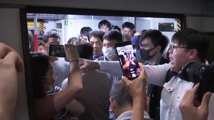 Protesten in Hongkong, onder meer tegen de invloed van China.
