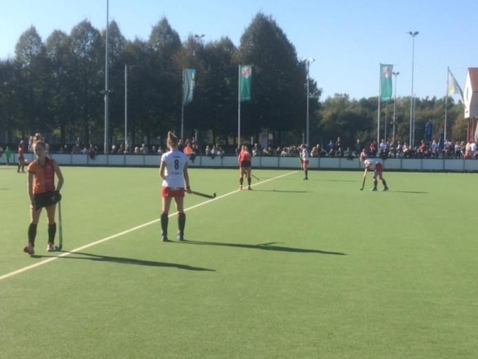 In de confrontatie met Oranje Rood uit Eindhoven werd het uiteindelijk 2-1.