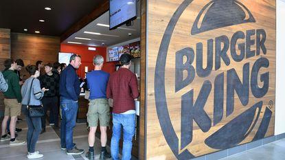 Overrompeling bij opening Burger King langs E40