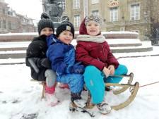 Sneeuw kleurt Gorinchem en regio wit