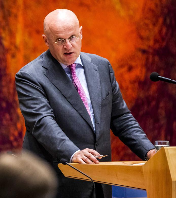 Ferd Grapperhaus, minister van Justitie.