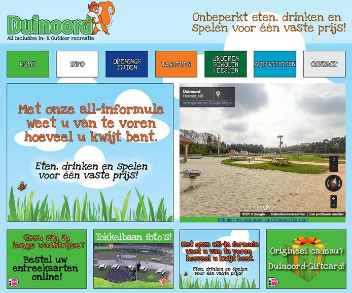 Website Duinoord Helvoirt