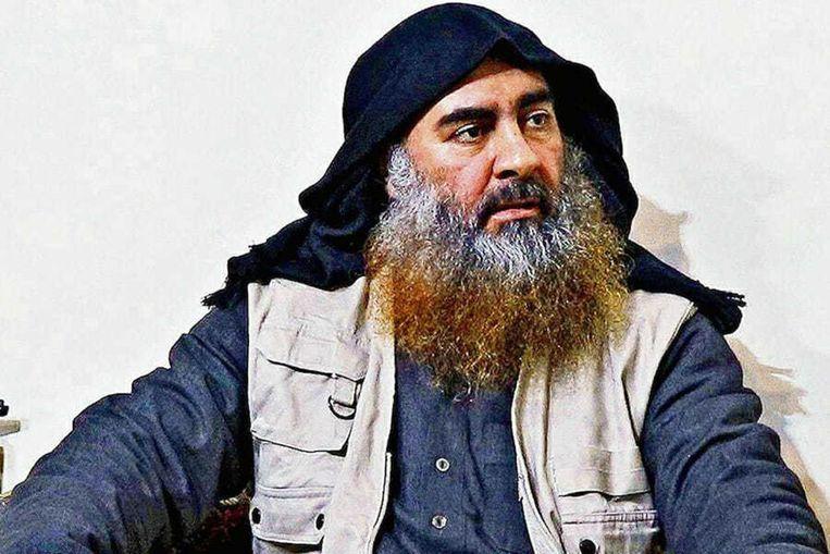 De vorige leider en oprichter van de terroristische organisatie IS, Abu Bakr al-Baghdadi.