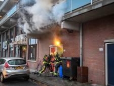 Woningen boven winkelcentrum Herenhof tijdelijk ontruimd wegens brand