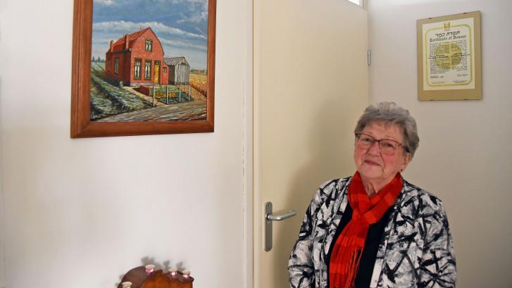 Een joods meisje overleefde in de Lovenpolder bij Hoek: Opeens had Adrie er een zusje bij