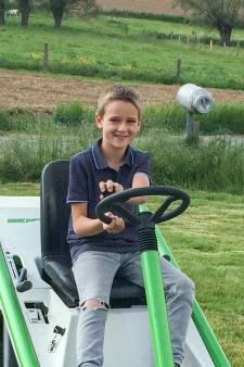 """Sebbe, 10 ans, fauché par la remorque d'un tracteur:  """"Son grand-père a tenté de le ranimer"""""""