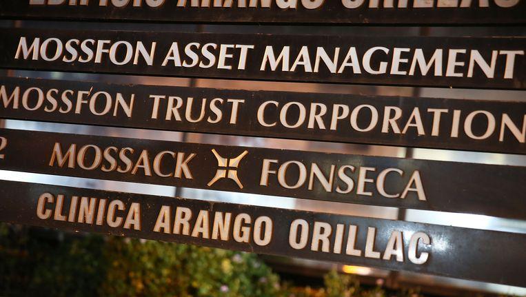 Het advocatenkantoor Mossack Fonseca in Panama City. Beeld getty