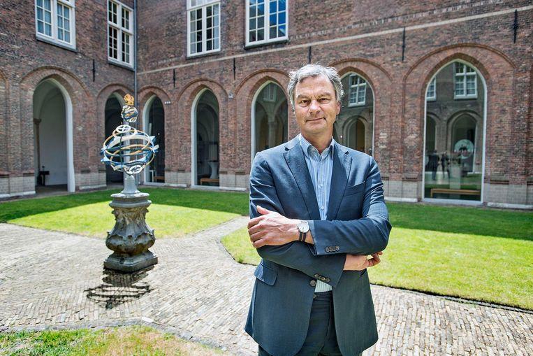 Oud-burgemeester Bernt Schneiders. Beeld Guus Dubbelman / de Volkskrant