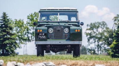 Land Rover van Dalai Lama geveild voor 130.000 euro