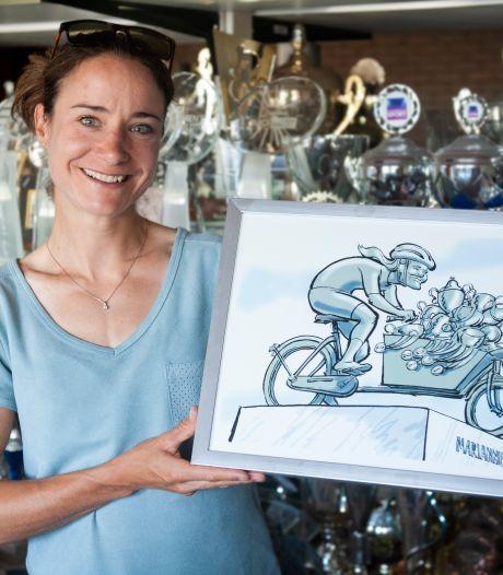 Winnaar standbeeldenverkiezing: Marianne Vos mag in brons worden gegoten!