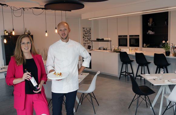 Anke Luyten en Jan Van Rompaey zijn de fiere uitbaters van Huiskamerrestaurant 'Van Rompaey Home Cooking'.
