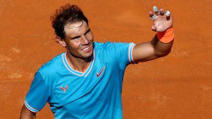 Isner geeft forfait voor Roland Garros - Nadal zonder veel moeite door in Rome, Federer trekt zich terug
