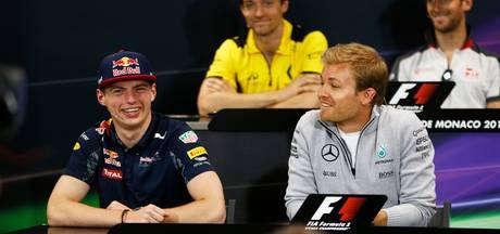 Steuntje in de rug van Verstappen van wereldkampioen Rosberg