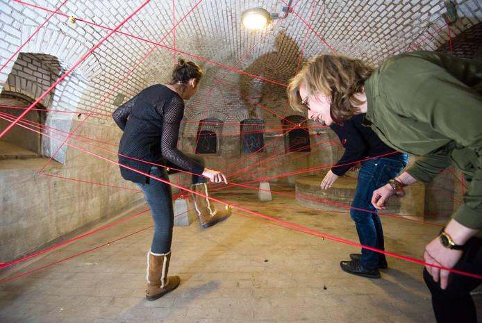 Activiteiten in het fort.