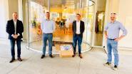 Ronde Tafel schenkt 1.000 mondmaskers aan Turnhoutse woonzorgcentra