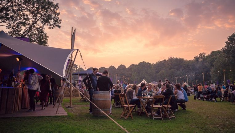 Editie 2014 in het Amsterdamse Bos. Beeld Bacchus Wijnfestival