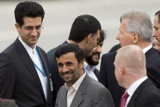 La venue d'Ahmadinejad ne fait pas l'unanimité à la conférence de Durban sur le racisme.