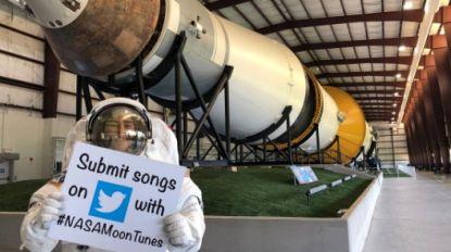 """NASA zoekt liedjes voor reis naar de maan: """"Suggesties via Twitter, graag"""""""