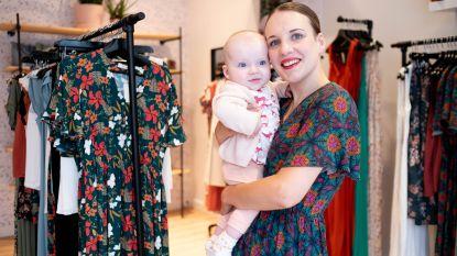 """Eigenares Butik Moose noemt eerste collectie naar baby: """"Ik wil mijn kleine Eva iets nalaten"""""""