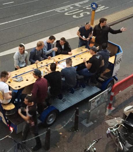 Den Bosch wil overlast bierfiets voor zijn en verbiedt de 'groepsfietsen' in centrum