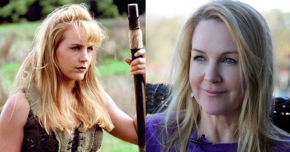 Renee O'Connor toen en nu.
