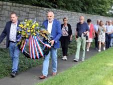 75 jaar na de razzia zijn Staphorsters in Neuengamme om 20 omgekomen dorpsgenoten te herdenken