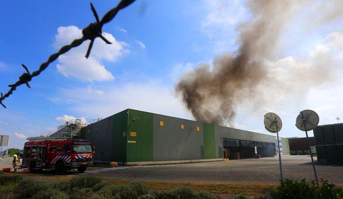Brand bij Heineken in Den Bosch
