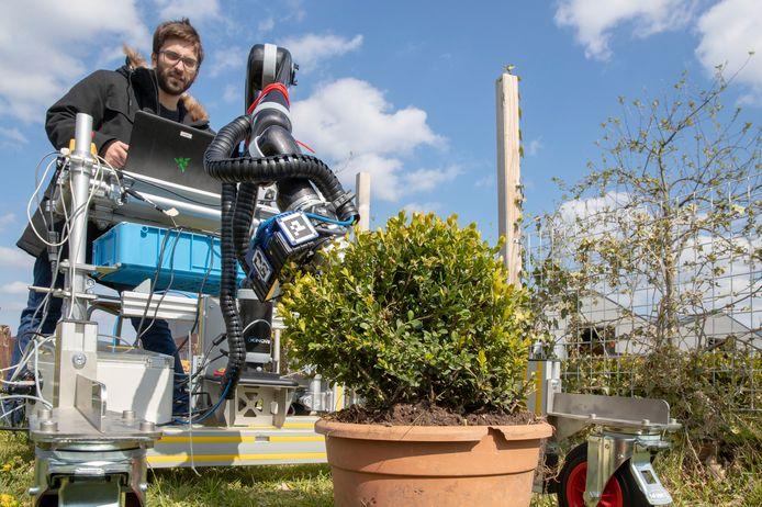 De TrimBot2020 in actie.