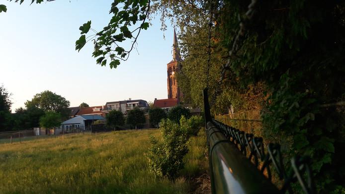 Het torenpad in Moergestel