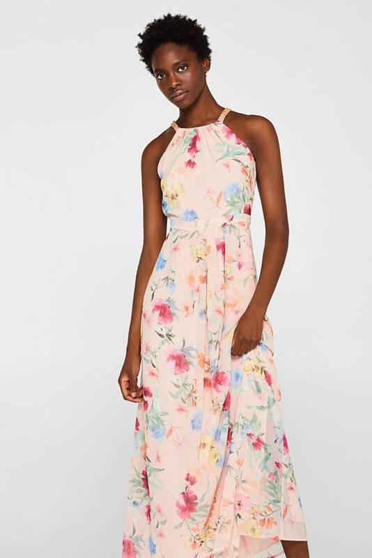 Robe maxi longueur à fleurs - 119,99 euros