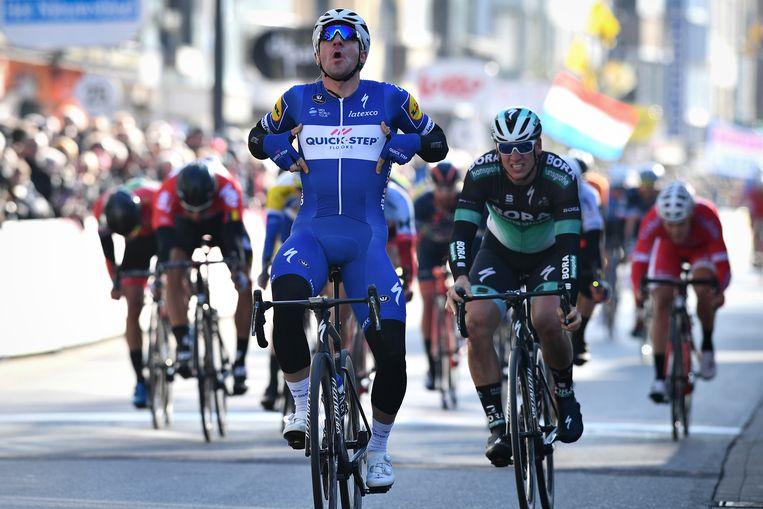 Elia Viviani won de meest recente editie van de Driedaagse Brugge - De Panne.