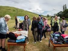 Verrassende kunst op Landgoed  Gulbergen in Nuenen in Afval = Landschap project
