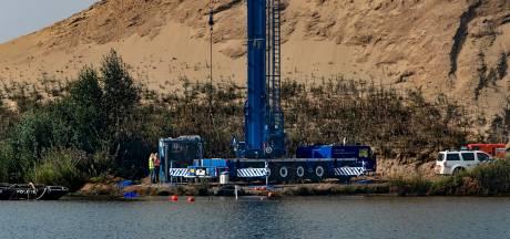 Zoektocht naar vermiste Piet en Hans voorbij: metalen voorwerp blijkt geen auto maar zware balk