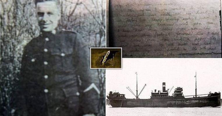 Bill Walker zat als soldaat zat aan boord van de SS Gairsoppa, die in 1941 tot zinken werd gebracht.