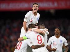 Historisch jong Engeland boekt knappe zege in Spanje