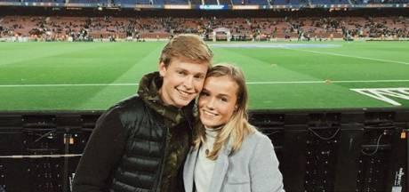 Vriendin Frenkie de Jong: Barça is jouw droomclub